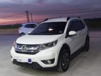 White Honda BR-V 2018 for sale in Automatic