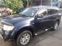 Selling Grey Mitsubishi Montero 2014 in Manila