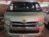Sell Silver 2016 Toyota Hiace in Pasig
