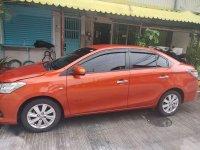Orange Toyota Vios 2016 for sale in Manila