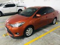 Orange Toyota Vios 2017 for sale in Quezon