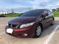 Selling Red Honda Civic 2015 in Quezon City