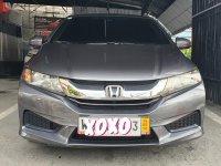 Grey Honda City 2015 for sale in Parañaque