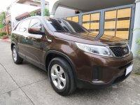 Brown Kia Sorento 2014 for sale in Pasig
