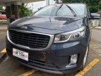 Grey Kia Carnival 2016 for sale in Automatic