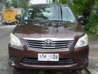 Brown Toyota Innova 2014 for sale in Quezon City