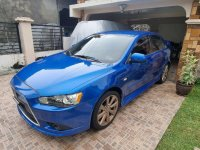 Blue Mitsubishi Lancer 2013 for sale in Automatic
