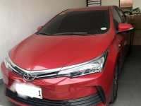 Sell Red 2017 Toyota Corolla in Quezon City