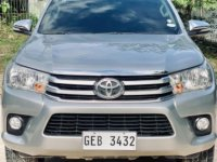 Silver Toyota Hilux 2016 for sale in Bogo