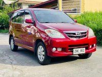Red Toyota Avanza 2007 for sale in Manual
