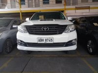 White Toyota Fortuner 2016 for sale in San Mateo