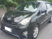 Black Toyota Wigo 2016 for sale in Manila