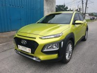 Sell Green 2020 Hyundai KONA in Quezon City