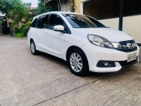 Sell White 2016 Honda Mobilio