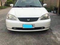 Selling White Honda Civic 2001 in Marilao