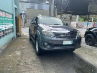 Grey Toyota Fortuner 2014 for sale in Makati