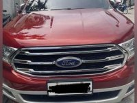 Red Ford Everest 2020 for sale in Automatic