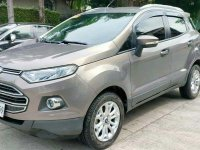 Grey Ford Ecosport 2017 for sale in Quezon City