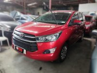 Red Toyota Innova 2020 for sale in Manual
