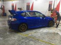 Selling Blue Subaru Impreza 2009