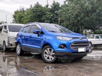 Blue Ford Ecosport 2016 for sale in Automatic