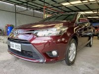 Red Toyota Vios 2017 for sale in Las Pinas