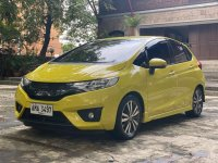 Yellow Honda Jazz 2015 for sale in Automatic