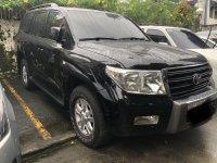 Sell Black 2008 Toyota Land Cruiser in Pasig
