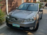 Selling Silver Subaru Outback 2011 in Pasig