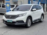 White Honda CR-V 2013 for sale in Parañaque