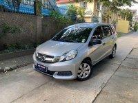 Selling Silver Honda Mobilio 2015 in Quezon City