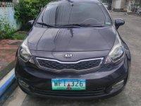 Grey Kia Rio 2013 for sale in Automatic