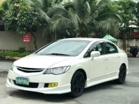 White Honda Civic 2007 for sale in Automatic