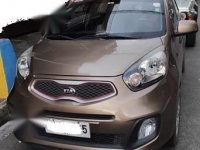 Sell Brown 2014 Kia Picanto in Mandaluyong
