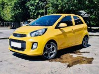 Yellow Kia Picanto 2016 for sale