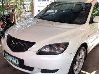 White Mazda 3 2007 for sale in Quezon