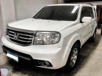 Selling White Honda Pilot 2013 in Quezon