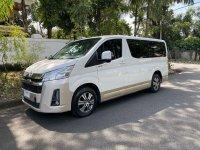 White Toyota Hiace Super Grandia 2019 for sale in Quezon