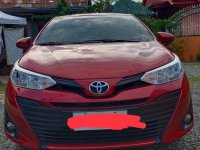 Selling Red Toyota Vios 2019 in Davao