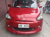 Red Mitsubishi Mirage 2015 for sale in Bocaue