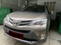Selling Brown Toyota RAV4 2015 in Quezon