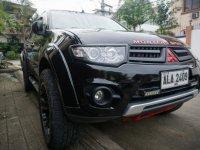 Black Mitsubishi Montero Sports 2014 for sale in Muntinlupa