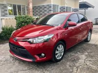 Red Toyota Vios 2016 for sale in Valenzuela