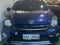 Selling Blue Toyota Wigo 2017 in Caloocan