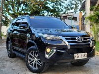 Sell Black 2017 Toyota Fortuner in Caloocan