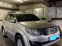 Selling Silver Toyota Fortuner 2013 in Taguig