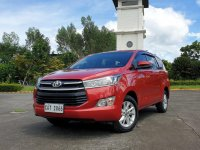 Selling Red Toyota Innova 2020 in Caloocan