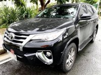 Black Toyota Fortuner 2019 for sale in Parañaque