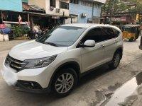 Pearl White Honda Cr-V 2013 for sale in Manila