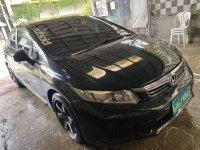Black Honda Civic 2013 for sale in Caloocan